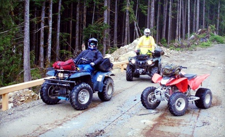 2-Hour ATV Excursion for One (a $230 value) - BC Power Sports in Agassiz
