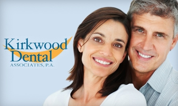 Kirkwood Dental Associates - Multiple Locations: $99 for Take-Home Teeth Whitening with Custom Trays ($395 Value) or $69 for Dental Exam, Cleaning, and X-rays ($250 Value) at Kirkwood Dental Associates