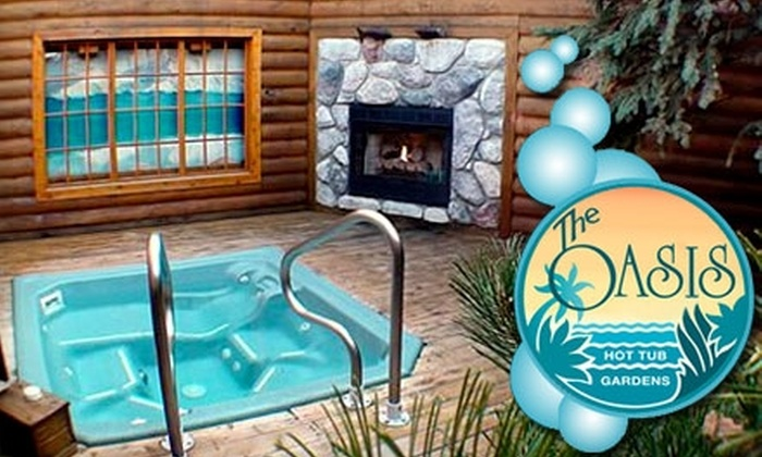 Oasis Hot Tub Gardens - Bryant Pattengill West: $22 for $44 Worth of Hottubbing at Oasis Hot Tub Gardens