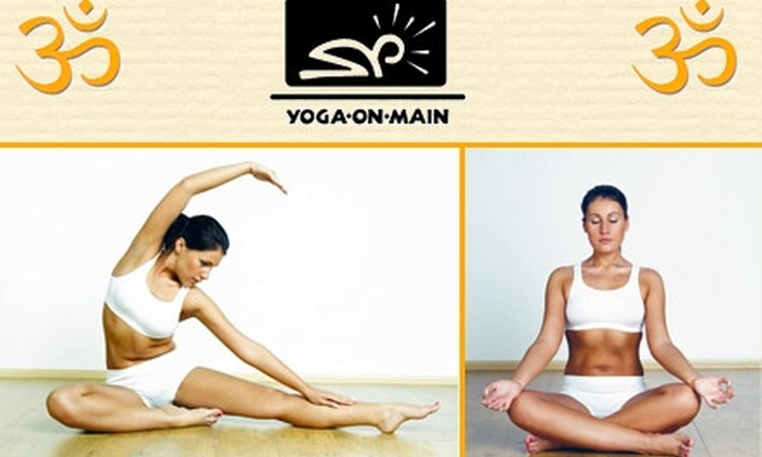 Yoga on Main - Manayunk: $30 for Four Yoga Classes at Yoga on Main ($60 Value)