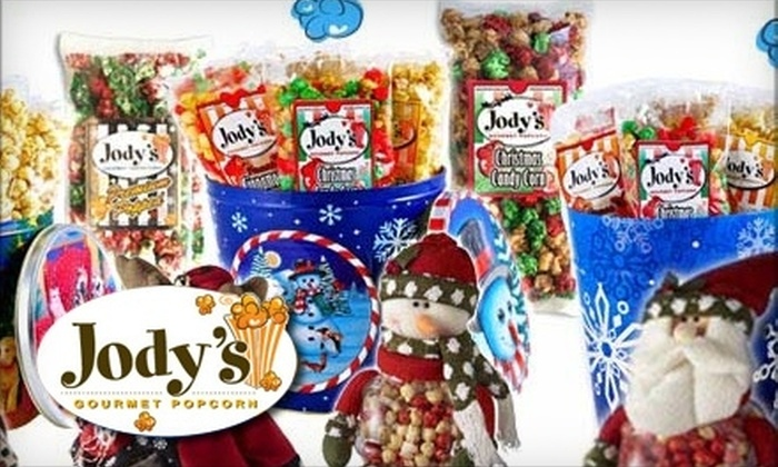 Jody's Gourmet Popcorn - Northeast Virginia Beach: $8 for $16 Worth of Gourmet Popcorn and Gifts at Jody's Gourmet Popcorn