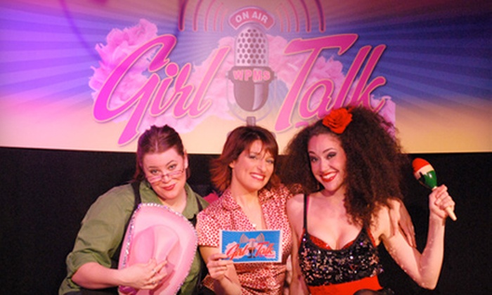 "Parker Playhouse - Victoria Park: Theater Outing with One Ticket to ""A Girls Night Musical: Girl Talk"" at Parker Playhouse on August 11, 13, or 14"