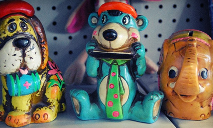 Betty Blue's Junk Shop - Arroyo Chico: $15 for $30 Worth of Vintage Apparel, Furniture, and Art at Betty Blue's Junk Shop