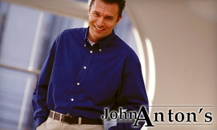 John Anton's Cleaners - Multiple Locations: $25 for $50 Worth of Dry Cleaning at John Anton's Cleaners