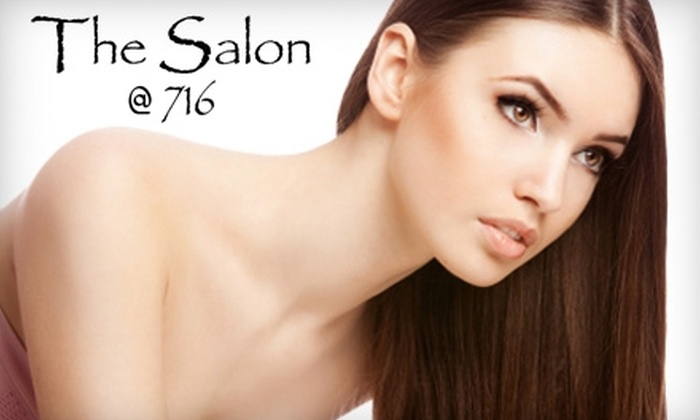 The Salon @ 716 - Gainesville: $99 for a Brazilian Blowout or All-Natural Keratin Smoothing Treatment at The Salon @ 716