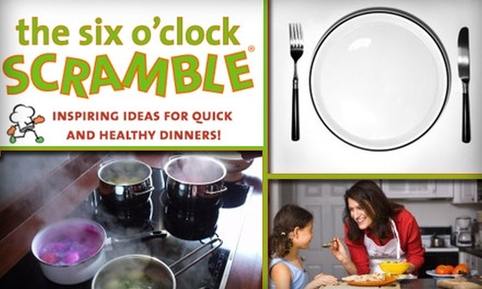 The Six O'Clock Scramble - Baltimore: $14 for a Six-Month Supply of Recipes from The Six O'Clock Scramble ($29.50 Value)