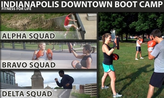 Indianapolis Downtown Bootcamp - Mapleton - Fall Creek: $39 for One Month of Unlimited Classes at Indianapolis Downtown Boot Camp