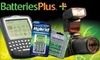$5 for Supplies at Batteries Plus