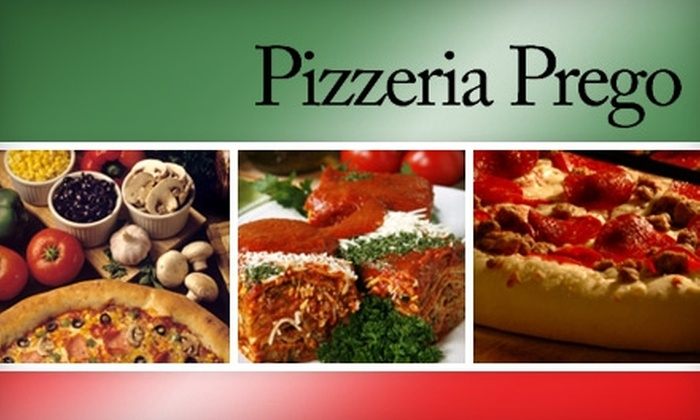 Pizzeria Prego - Lendrum Place: $10 for $20 Worth of Specialty Pizza at Pizzeria Prego