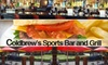 Coldbrew's Sports Bar & Grill - Roswell: $10 for $25 Worth of Sandwiches, Burgers, and Brews at Coldbrew's Sports Bar & Grill