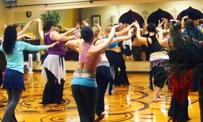 Plaza de Anaya - Tempe: $35 for Five Belly-Dance or World-Fusion Classes at Plaza de Anaya in Tempe ($75 Value)