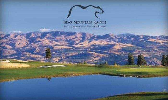 Bear Mountain Ranch Golf Course - Chelan: $39 for 18 Holes of Golf Plus Balls and a GPS-Equipped Golf Cart at Bear Mountain Ranch Golf Course in Chelan