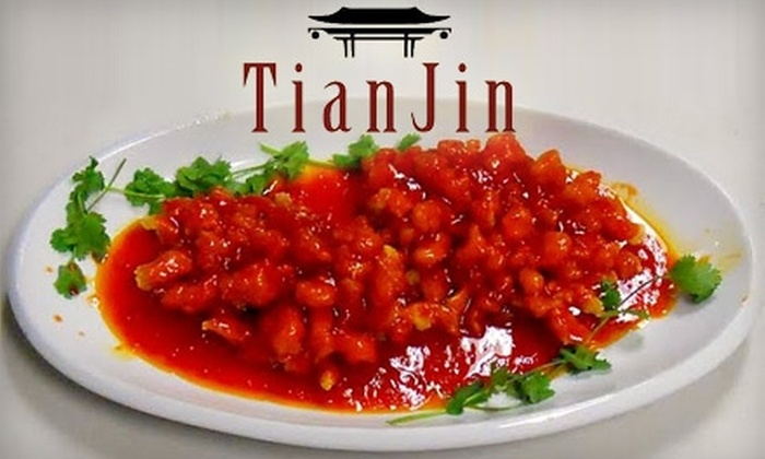 Tian Jin Chinese Restaurant - Chanhassen: $10 for $20 Worth of Authentic Chinese Cuisine at Tian Jin Chinese Restaurant in Chanhassen