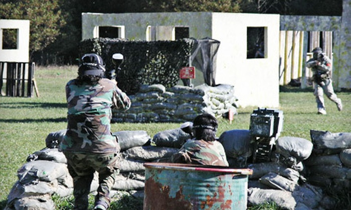 Real Deal Paintball - Kemptville: Half-Day Paintball Package for Two or Four at Real Deal Paintball in Kemptville (51% Off)