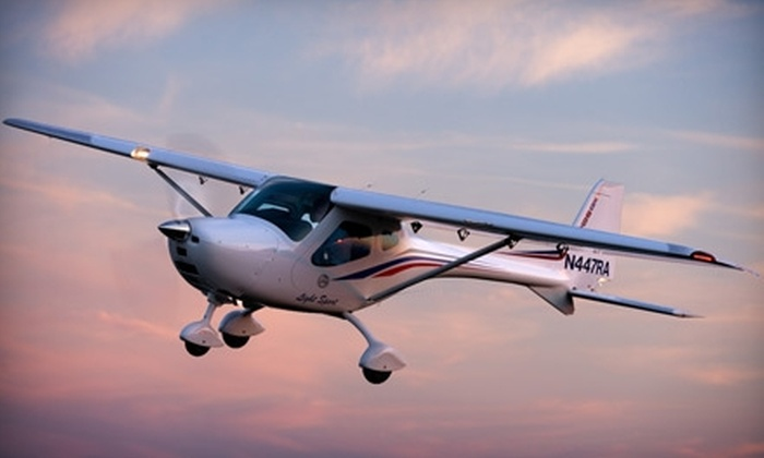 St. Charles Flying Service - Portage Des Sioux: $45 for Introductory Flight Lesson with St. Charles Flying Service ($89 Value)