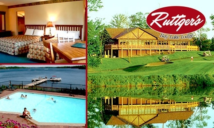 Ruttger's Bay Lake Lodge - Bay Lake: $150 for a Two-Night Stay and Two Rounds of Golf at Ruttger's Bay Lake Lodge in Deerwood (Up to $500 Value)