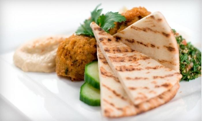 Falafel Moroccan Restaurant - Southwest Orange: $15 for $30 of Mediterranean Fare and Hookah at Falafel Moroccan Restaurant