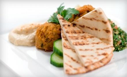 $30 Groupon to Falafel Moroccan Restaurant - Falafel Moroccan Restaurant in Orlando