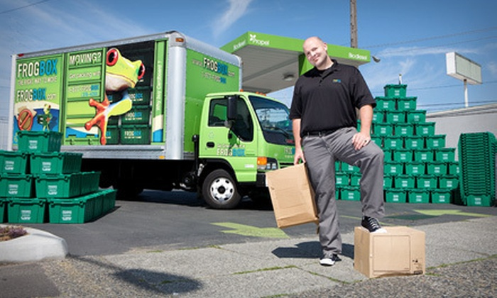 Frogbox - Lakeview: Eco-Friendly Moving Supplies at Frogbox (Up to 55% Off). Two Options Available