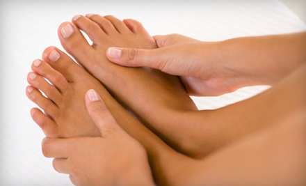 One Manicure and Classic Pedicure (a $43 value) - Robert Anthony Salon and Day Spa in Wormleysburg