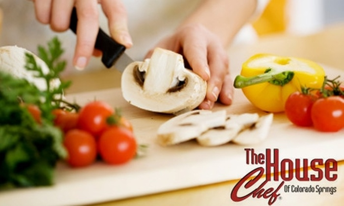 The House Chef of Colorado Springs - Broadmoor: $69 for a Cajun Cooking Demonstration and Full Meal from The House Chef of Colorado Springs ($139 Value)