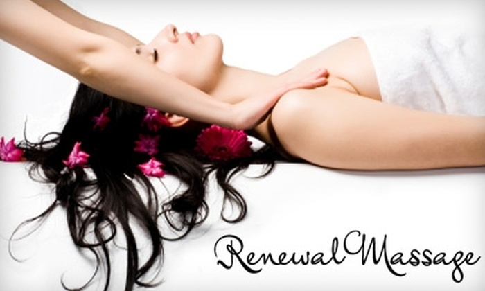 Renewal Massage - Battlefield: $35 for a One-Hour Swedish Massage ($70 Value) or $40 for a One-Hour Deep Tissue Massage ($85 Value) at Renewal Massage in Fredericksburg