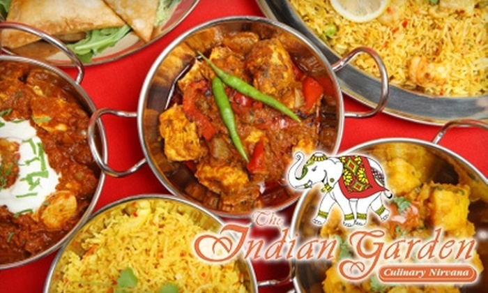The Indian Garden - Near North Side: $15 for $30 Worth of Indian Cuisine at The Indian Garden