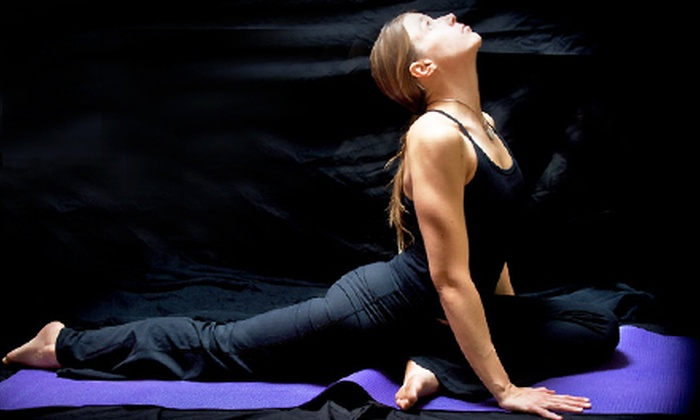 Innerlight Yoga and Wellness - Beavercreek: Five Drop-In Yoga Classes or One Month of Unlimited Classes at Innerlight Yoga and Wellness (Up to 73% Off)