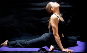 Innerlight Yoga and Wellness: Five Drop-In Yoga Classes or One Month of Unlimited Classes at Innerlight Yoga and Wellness (Up to 64% Off)