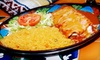 Chaparral Mexican Grill - Indian Hill: Mexican Cuisine for Two or Four at Chaparral Mexican Grill in Cocoa (Up to 55% Off)