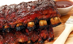 Big Al's Smokehouse BBQ: Barbecue at Big Al's Smokehouse BBQ (Up to 47% Off). Three Options Available.