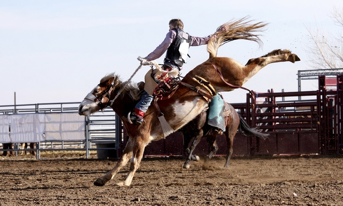 Crosby Fair and Rodeo - Crosby: Admission for Two or Four to Crosby Fair and Rodeo (Up to 43% Off). Five Dates Available.