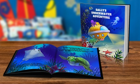 Personalized Story Books like Under Water Adventure from Dinkleboo (Up to 80% Off)