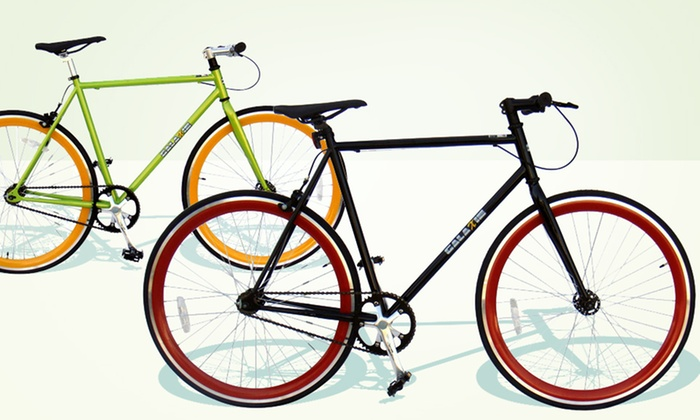 Fixed Gear Bikes: Fixed Gear Bikes. Multiple Heights Available. Free Shipping.