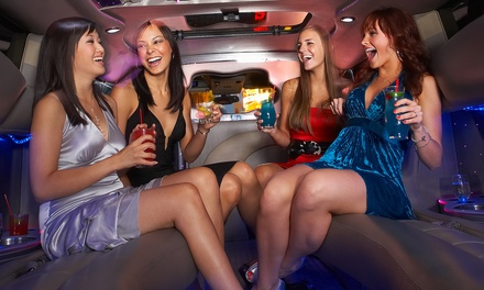 BYOB Limo, Party Bus, Trolley, or Town Car Rental from Entertainment Express Limousines (Up to 50% Off)
