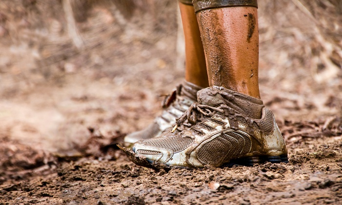 Adrenaline Rush Sports, LLC - Adrenaline Rush Sports, LLC: Mud-Run Entry for One or Two on August 2–3 from Adrenaline Rush Sports, LLC (51% Off)