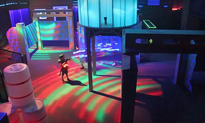 Laser Tag of Buford - Buford: Laser Tag with Optional Beverages and Popcorn at Laser Tag of Buford (Up to 59% Off). Three Options Available.