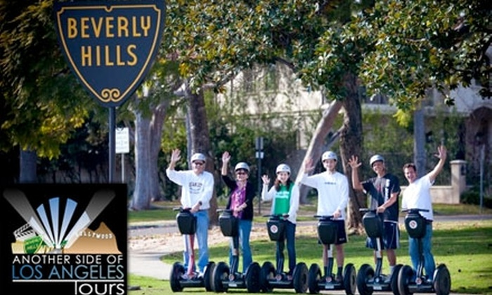 Another Side of Los Angeles Tours - Mid-Wilshire: $49 for the Beverly Hills Segway Tour or La Brea Tar Pit Segway Tour from Another Side of Los Angeles Tours