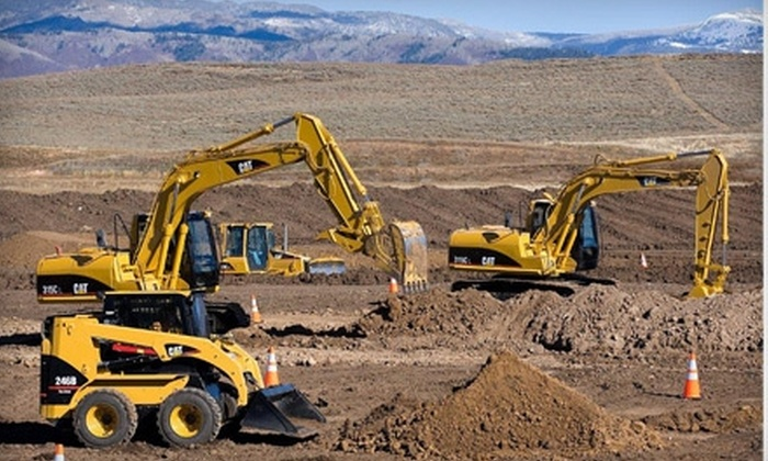 Dig This Heavy Equipment Playground - Las Vegas: $149 for a Big Dig at Dig This Heavy Equipment Playground ($400 Value)
