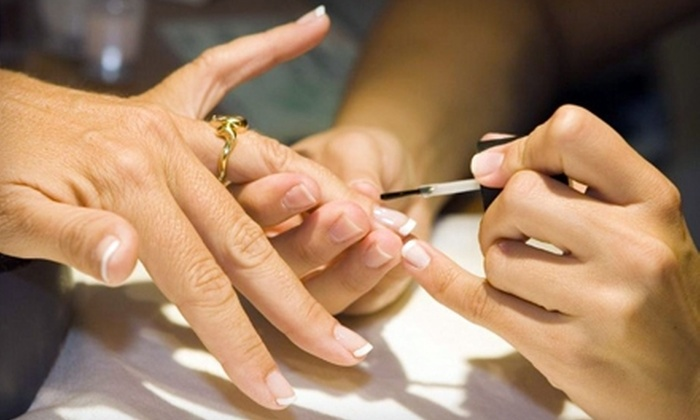 Spa Laje - Central City: $50 for a Spa Mani-Pedi at Spa Laje ($130 Value)