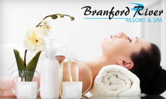 Branford River Resort and Spa - Branford: $110 for a One-Hour Massage, Mini-Facial, and Herbal Hydrotherapy Bath Treatment from Branford River Resort and Spa