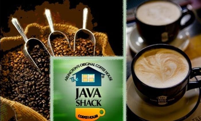 Java Shack - Lyon Village: $10 for $25 Drink Card at The Java Shack