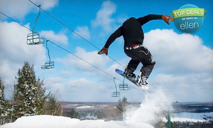 Norway Mountain - Norway: One-Day Lift Ticket or Season Ski and Ride Pass at Norway Mountain (Up to 54% Off)