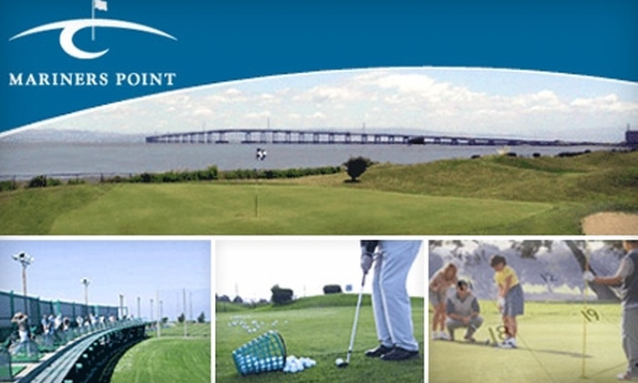 Mariners Point - Vintage Prk: $33 for a $55 Range Card and a Round of Golf at Mariners Point in Foster City (Up to $66 Value)