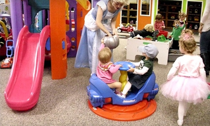 The Play Place - Jackson: $12 for Five Indoor-Playground Admissions or Childcare at The Play Place (Up to $30 Value).