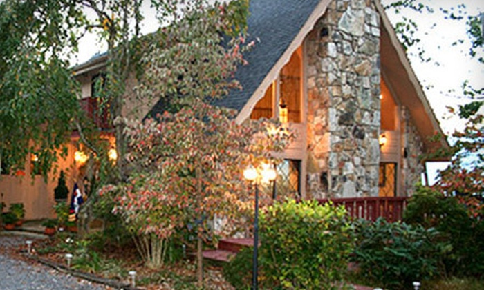 Foxtrot Bed and Breakfast Inn - Gatlinburg, TN: $125 for One-Night Weekday Stay with Champagne and Cider at Foxtrot Bed and Breakfast Inn in Gatlinburg ($255 Value)