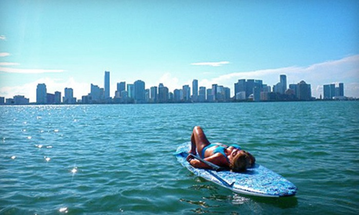 Gold Coast Aquatic Adventures - Central Beach: Two-Hour Standup-Paddleboard Rental with or without Guide from Gold Coast Aquatic Adventures (Half Off)