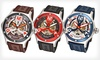 Stuhrling Original Open-Dial Watches: Stuhrling Original Open-Dial Men's and Women's Watches (Up to 86% Off). 7 Options Available. Free Shipping.