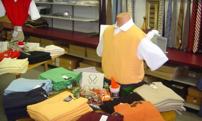 The Cambridge Shop for Men - Vestavia Hills: $45 for $100 Worth of Apparel at The Cambridge Shop for Men