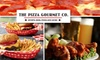 CLOSED The Pizza Gourmet Co. - Multiple Locations: $10 for $20 Worth of Casual Italian Fare and Drinks at The Pizza Gourmet Company
